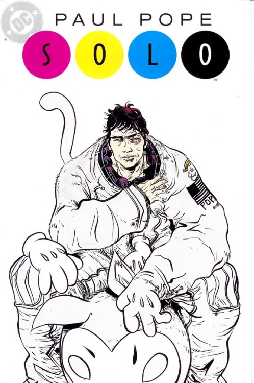 supervillain:  DUET THREE: PAUL POPE. Me and Matt continue talking about Solo over at Comics Alliance. This time featuring Paul Pope's crazy FUCK/KILL/KIRBY mini-masterpiece OMAC tribute. Please check it out.