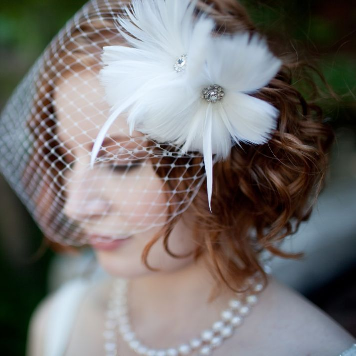 Beautiful wedding hair accessory!