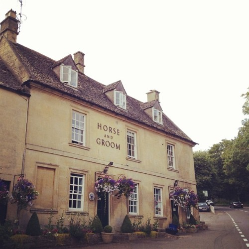 Horse & Groom (Taken with Instagram at Horse & Groom Hotel Moreton-in-Marsh)