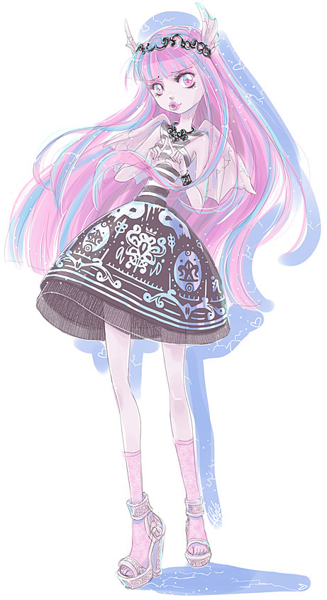 monster-high-girls:  Girlish and Granite by *Kishmet