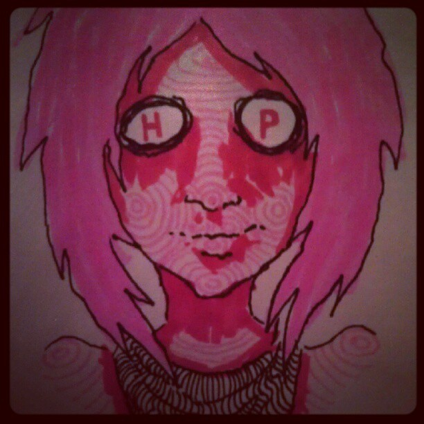 #drawings #doodles #illustration #marker (Taken with Instagram)