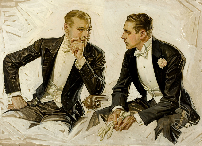 newamsterdamboys:  Obsession with early 20th century Tuxedos