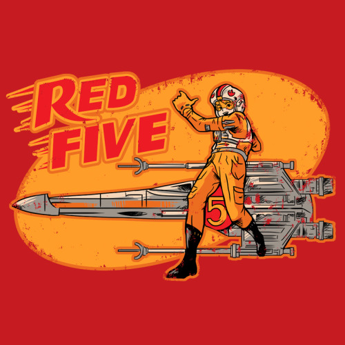 adamworks:  My Red Five design os on the posibili-tees on the Ript facebook page if you like it just clic on the image and vote for this with a like, thanks :D  ANOTHER ONE? I LOVE MY LIFE RIGHT NOW