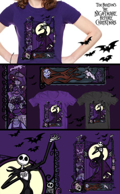 My Nightmare Before Christmas design is up for voting! Please re-post. :) http://atrium.threadless.com/nightmare/submission/a-nightmare-nouveau/