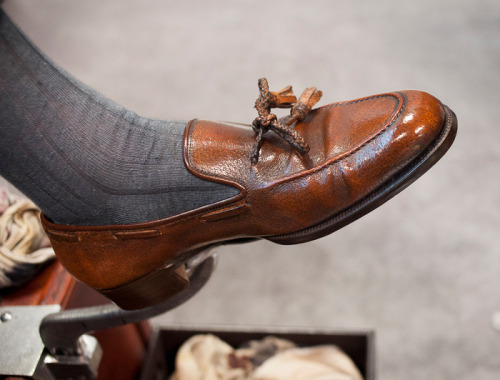 jhilla:  Will's Pigskin Tassel Loafers - an all time favorite shoe for me.