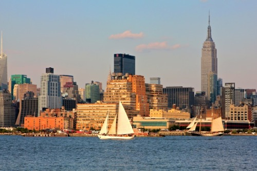 Our Stunning View of Manhattan from Hoboken from: NYC Photo Gallery- Going Green In New York City