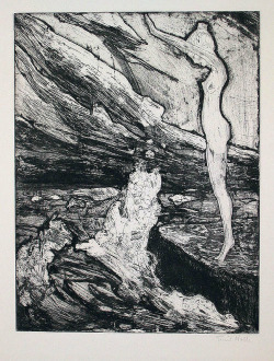 "engineers-of-the-soul:  asolitarycomfort:  Emil Nolde ""Brandung""  Emil Nolde"