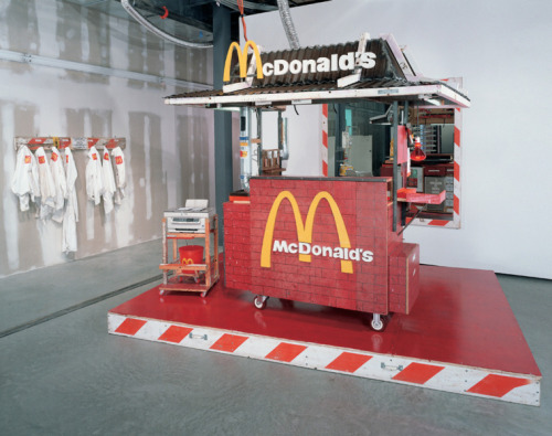 New York artist Tom Sachs. Nutsy's McDonald's, 2001This is the Tumblr Blog of Tom Sachs. Contemporary-Art-Blog