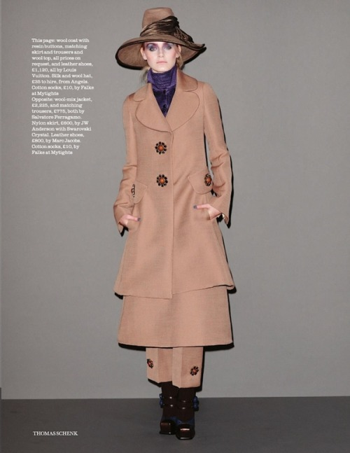 kori richardson by thomas schenk for uk elle september 2012