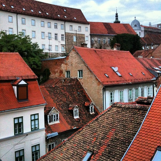 Changing Views, Zagreb, Croatia (Taken with Instagram)