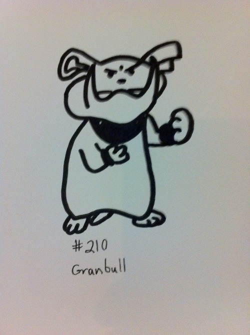 #210 - Granbull not the best (and not MY best)