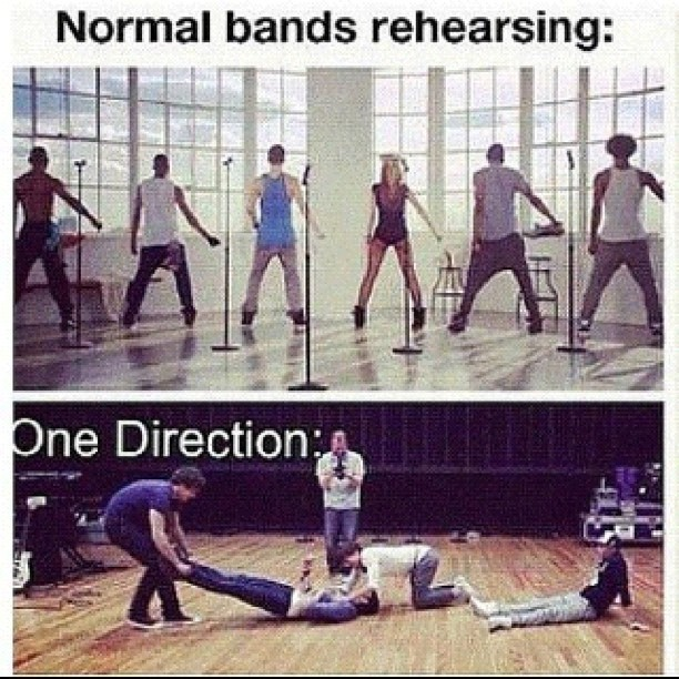 Dying of laughter cause its so true! #true #onedirection #band (Taken with Instagram)