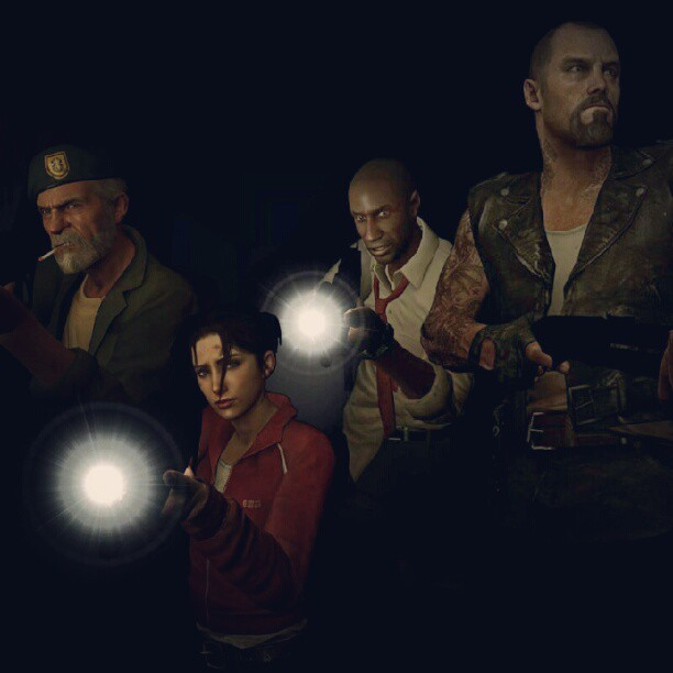 zombies-pandas-potter-trek-omg:  The Originals. #left4dead #l4d #zombies  (Taken with Instagram)
