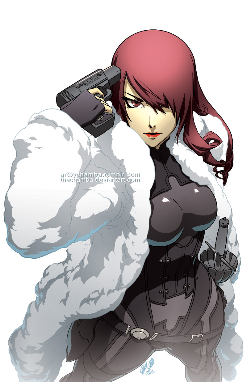 she-dreamt-she-was-a-bulldozer:  Mitsuru by *theCHAMBA