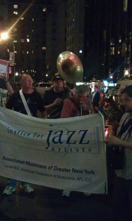 No justice, no jazz! Justice 4 Jazz Artists! #99pkts