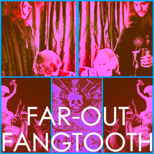 """Recent interview with """"Revolt of the Apes"""". Talks about our recent EP and the future*Check out the site Here: http://revoltoftheapes.com/2012/08/09/far-out-fangtooth/""""We can say that """"Occasion of Sin"""" – a song from the Far-Out Fangtooth EP entitled, """"The Thorns"""" (released by the consistently rad HoZac Records) – is today our favorite song of all time.We can say that tomorrow the answer might be the EP's title track, and the next day, the final song, """"Patience.""""This isn't hyperbole – ape shall not blow smoke up, around or near the posterior. This is an expression of the feeling we have when we are in the midst of listening to music that truly captures our mind, the feeling we have when we are in the midst of the eternal now, when there is only the sound and there is only our sloppy, closed-eye, air-guitar gyrations. This is our practice – the appreciation of the far-out.And this is our appreciation of Far-Out Fangtooth. Deploying the brotherly love that defines their home city of Philadelphia, """"The Thorns"""" nearly detonates with the dark, deep pulse of a kind of creepy, cosmic cramps that just feels right – a now sound, huge and harrowing, wrapped around a core of primitive yearning, a threatening thorn in the side of disposable culture.We can say all of this due to"""