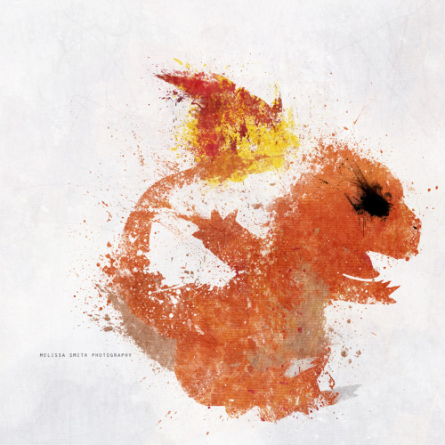 geeksngamers:  Charmander - by Melissa Smith Buy it at Society6