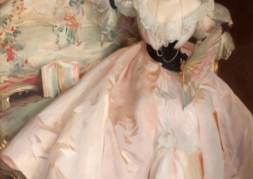 pubertad:  Mrs. Carl Meyer and her Children (detail) by John Singer Sargent