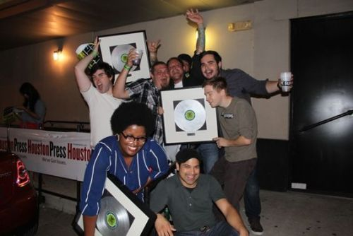 thesuffers:  YAY we won!!! We won best new act,best reggae, and Kam won best female vocalist! Thank you to everyone who voted for us! See you next year HPMA's