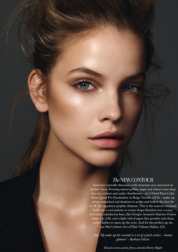 thebeautymodel:  Barbara Palvin by Jonas Bresnan for Harper's Bazaar UK September 2012.