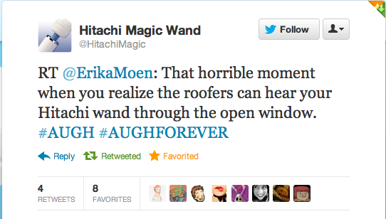Retweeted by @HitachiMagic. I win at life.