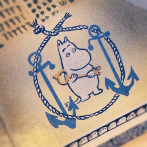 Muminspelet! This would make a cool tattoo. #moomin. #moominday  (Taken with Instagram)