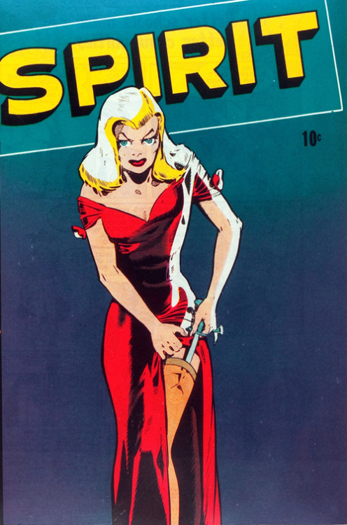 vintagegal:  The Spirit #22 (1950)