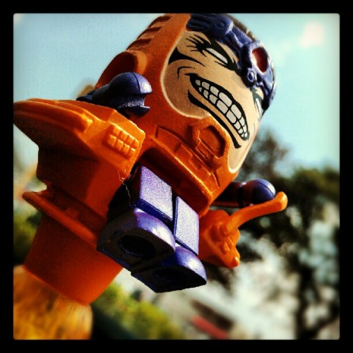 MODOK!!!!! The best and worst villain of all-time #modok #minimates #marvelVScapcom3 #Marvel #ironman #avengers #toys  (Taken with Instagram)