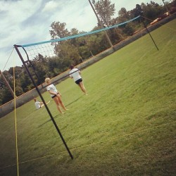 Outdoors :) #volleyball  (Taken with Instagram)