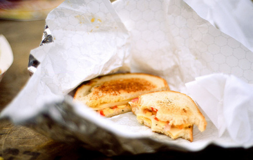 Grilled cheese by shuzhens on Flickr.