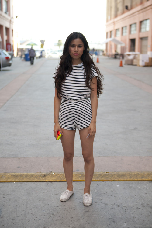 Rompers by American Apparel.
