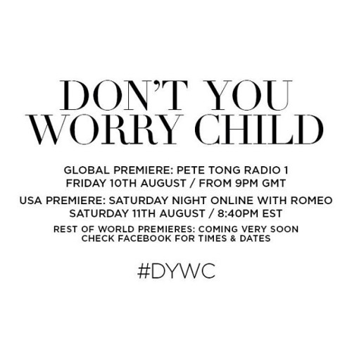 Don't you worry child #petetong #radio1 #dywc #sebastiningrosso #swedishhousemoafia #rave #plur #party #dance #music #bigcupofjoe   (Taken with Instagram)