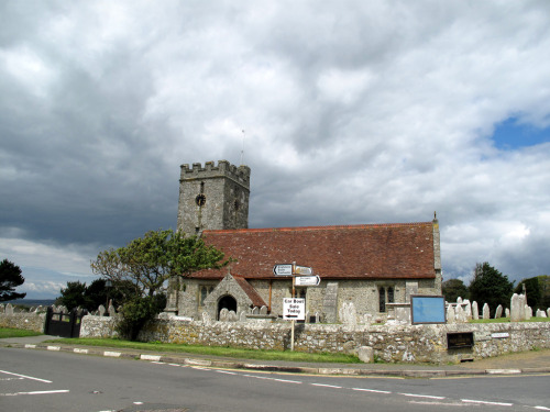 The Parish Church of Saint Andrew Chale (by silverlutra)