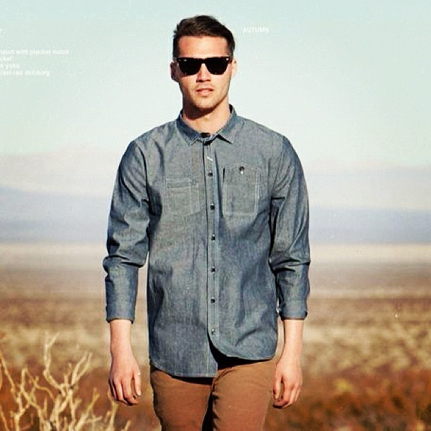 COMUNE Rae chambray shirt Autumn 12 #comune #dropcity #menswear #autumn12 #shirting #chambrayshirt (Taken with Instagram)