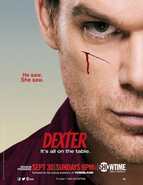 v-state:  Dexter season 7 coming soon on Showtime