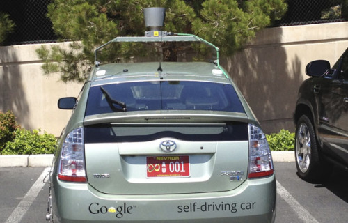 futuristgerd:  (via Google's Self-Driving Cars: 300,000 Miles Logged, Not a Single Accident Under Computer Control - Rebecca J. Rosen - The Atlantic) Clearly our future - the end of the car as status symbol.   Yes please. I would pay so much money (that I don't have) to never have to drive again.