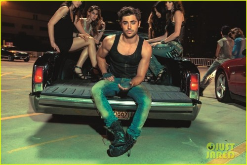 iamichaelreyes:  Zac Efron for John John Denim