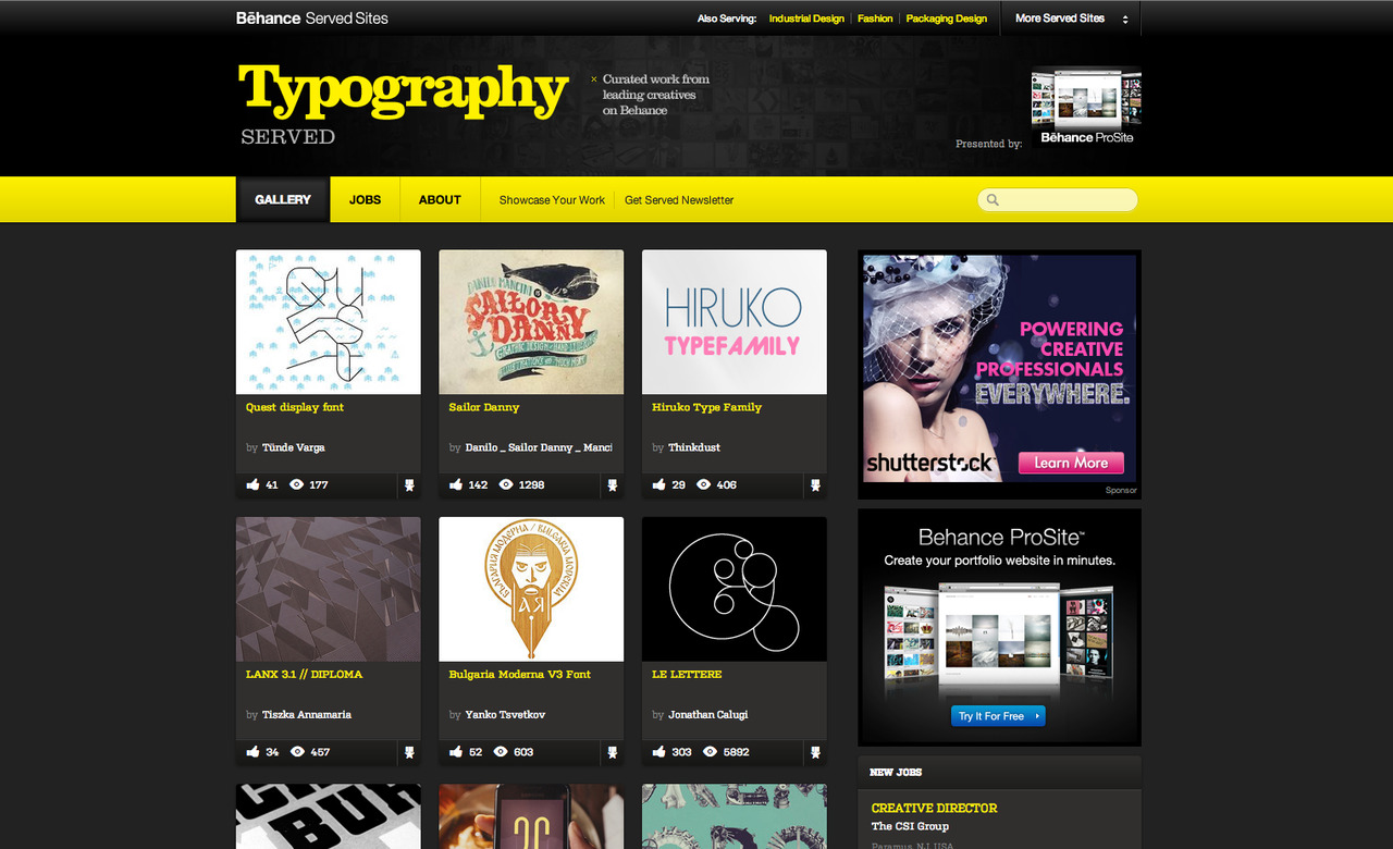 Quest is featured on Typographyserved.com! :))