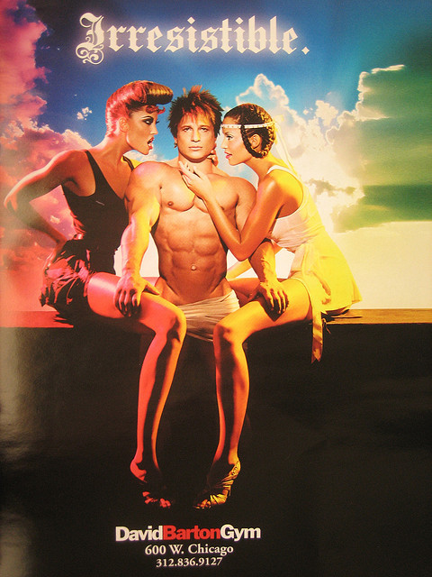 Creepy David Barton Gym ad by Andrew Huff on Flickr.Where is your God now?
