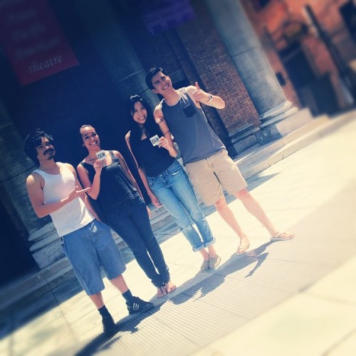 Tank-top Thursday at Visual Comminications!  (Taken with Instagram)