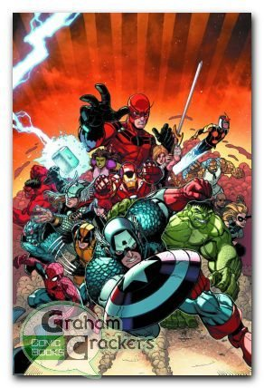 Avengers vs. X-men #10. I'm so glad Hulk is gonna be in the mix now. Colossus has no chance.