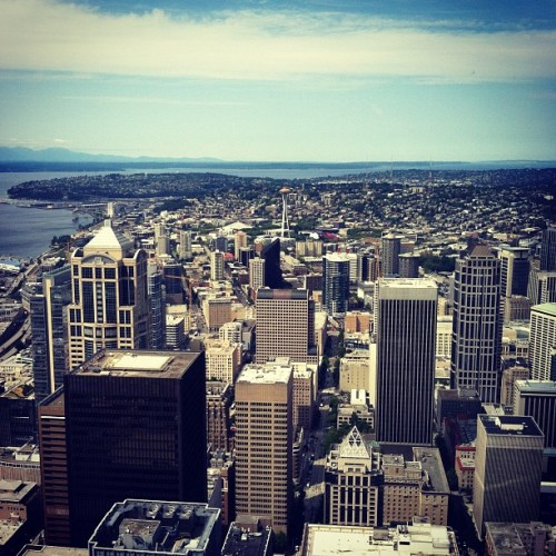 Space Needle (Taken with Instagram)