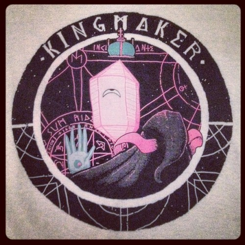#kingmaker merch came in today! (Taken with Instagram)
