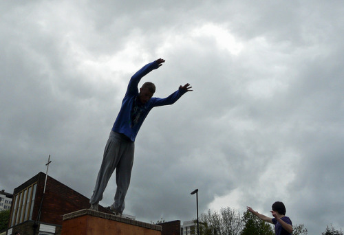 North East parkour at PlayToon 2012 by bassarids on Flickr.