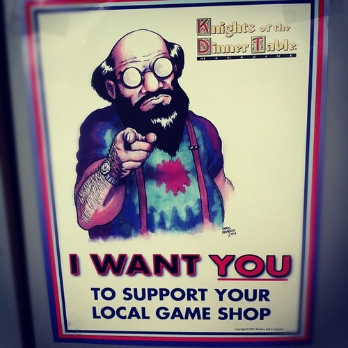 seenontabletop:  Taken with Instagram at Bookery Gaming Store - http://www.bookeryfantasy.com/