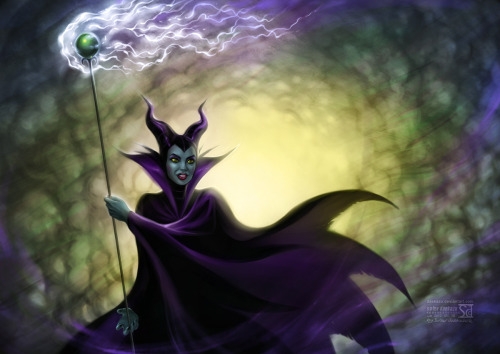 Maleficent from Sleeping Beauty by *daekazu