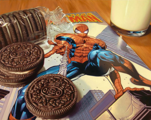 CANDY AND COMICS: THE OIL PAINTINGS OF DOUG BLOODWORTH