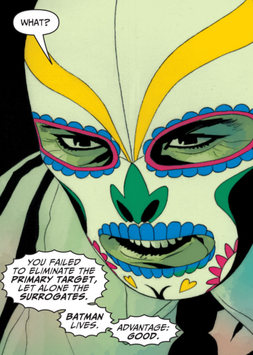 from batman #669 (art by J.H. williams III, written by grant morrison)
