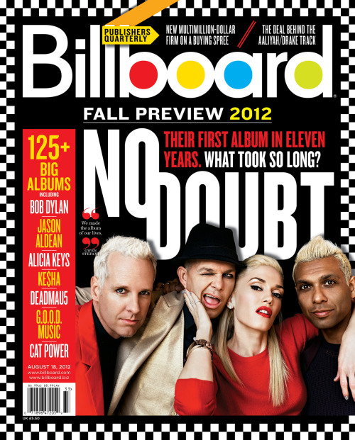 Get a sneak peek of our new No Doubt cover! What do you think?