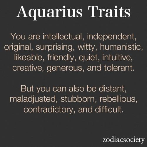 Aquarius zodiac dates
